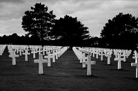 Omaha Beach Graves