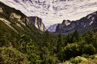 Yosemite Tunnel View HDR