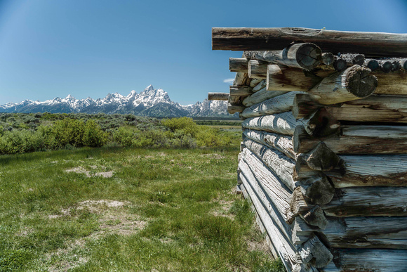 Cunningham Cabin and Tetons