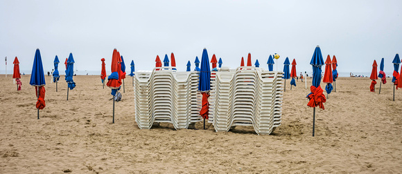 The Umbrellas of Deauville